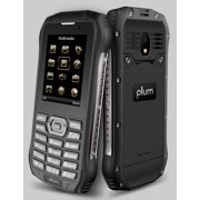 Plum Ram 7 - 3G Rugged Cell Phone GSM Unlocked IP68 Certified ATT Tmobile MetroPCS Simple Mobile Straight Talk E700blk