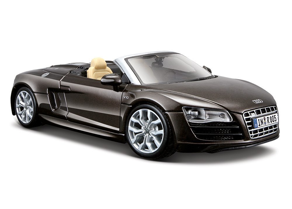 Audi R8 Spyder 1:24 Scale Highly Detailed Die-cast Model Toy Car Maisto