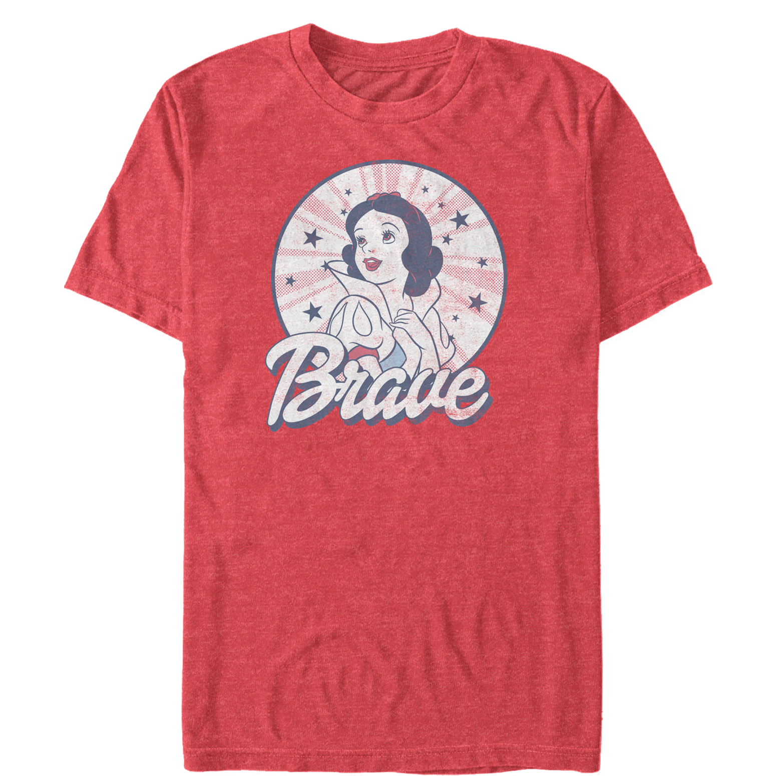 Snow White and the Seven Dwarves Men's Fourth of July Brave T-Shirt