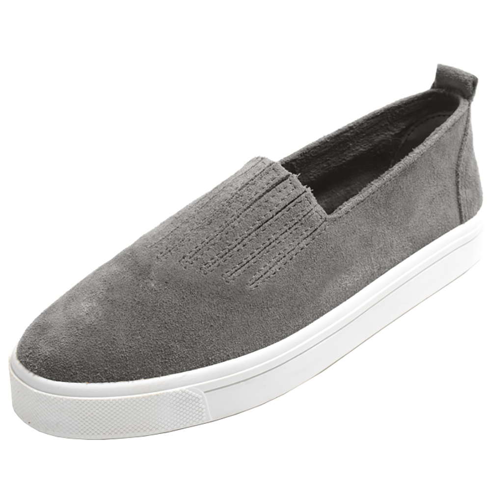 Minnetonka Womens Gabi Grey Slip On Shoe by MINNETONKA