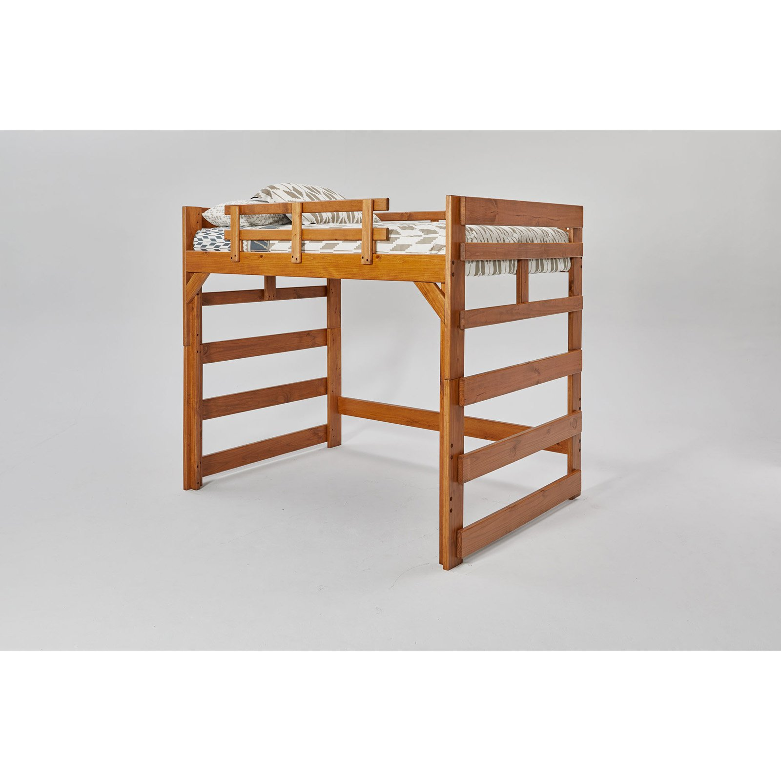 Woodcrest Heartland Loft Bed - Brown
