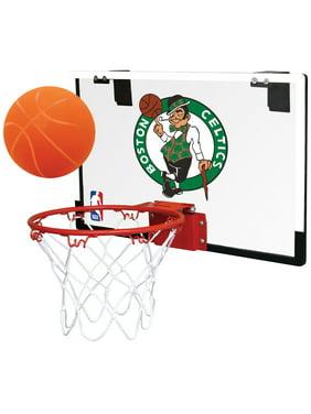 Rawlings NBA Game On Basketball Hoop Set, Boston Celtics