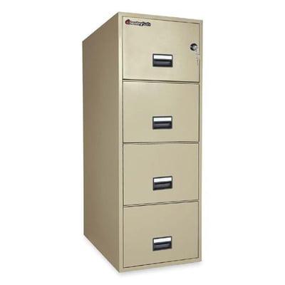 Sentry Safe Vertical Fire File Cabinet Sen4g3131p