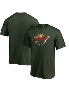 Minnesota Wild Fanatics Branded Youth Primary Logo T-Shirt - Green