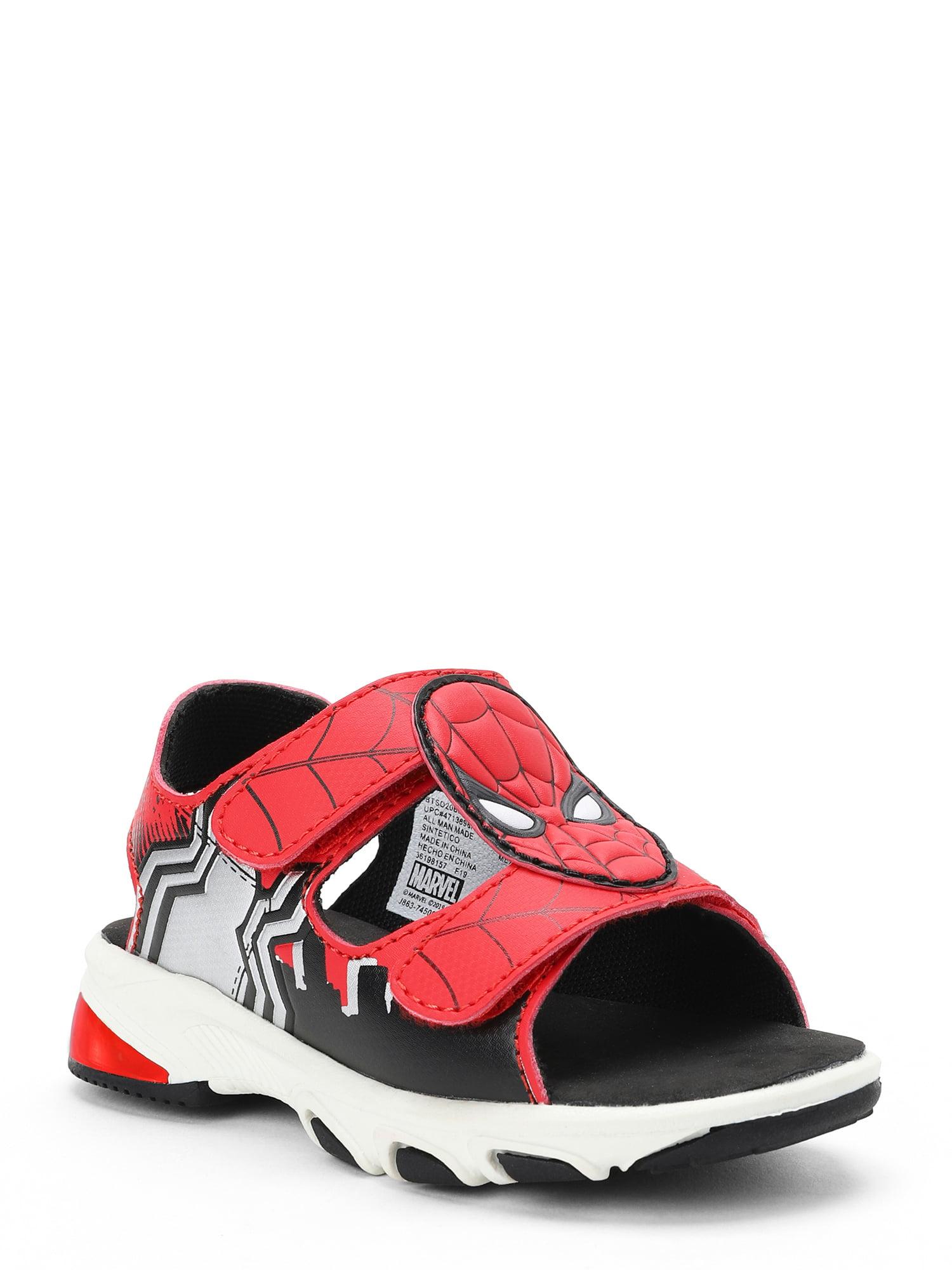 Spiderman Open Toe Light Up Sandal