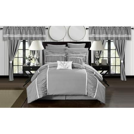 Auburn Bed Set (Auburn 24-Piece Bed In a Bag Comforter Set )
