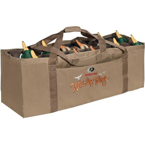 Yukon Gear Mossy Oak 12 Slot Full Body Duck Decoy Bag