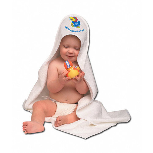 NCAA - Kansas Jayhawks Hooded Baby Towel