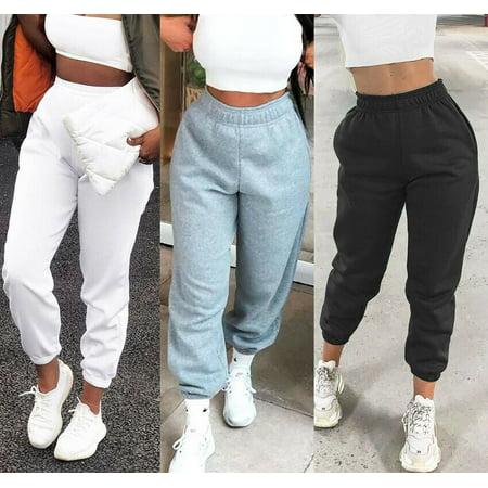 Women Harem Pants Casual High Waist Sweatpants Baggy Long Trousers Joggers Sport