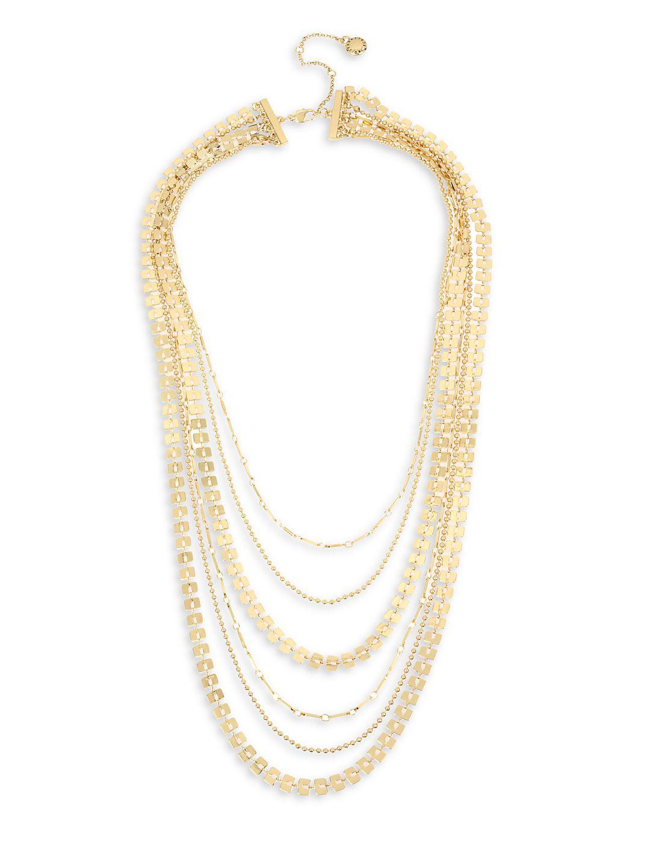 Future Femme Chain Multi-Strand Necklace