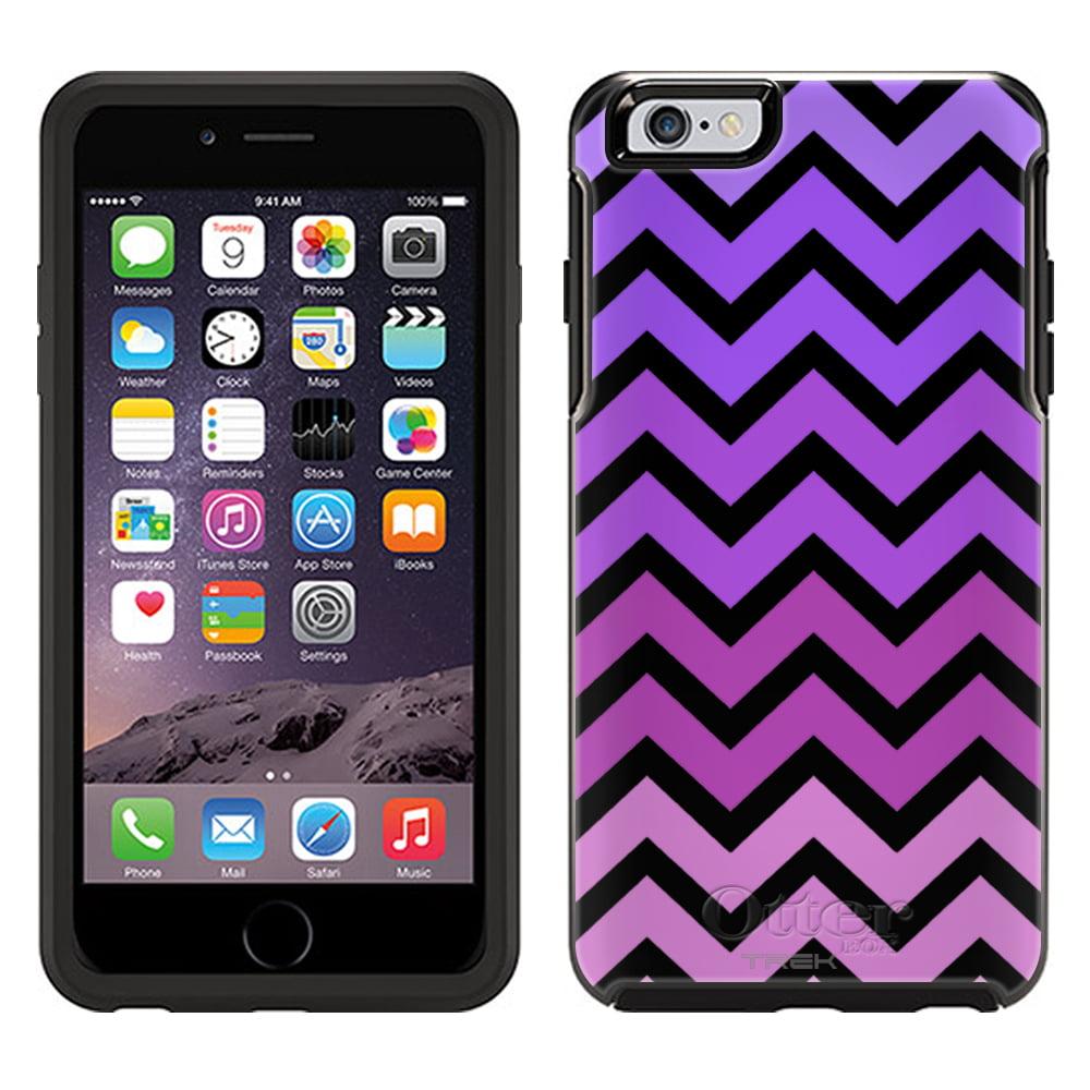 OtterBox Symmetry Apple iPhone 6 Plus Case - Chevron Pink Purple Black OtterBox Case