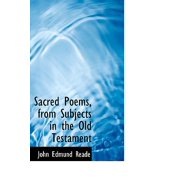 Sacred Poems, from Subjects in the Old Testament