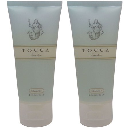 Tocca Cucumber and Grapefruit Shampoo Lot of 2 each 2oz. Total of 4oz