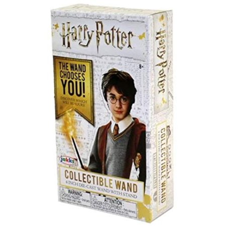 "Harry Potter Die Cast 4"" Collectible Wand with stand, blind box, Straight from the ´Harry Potter´ moviesWalmarte this assortment of diecast.., By Jakks Pacific"