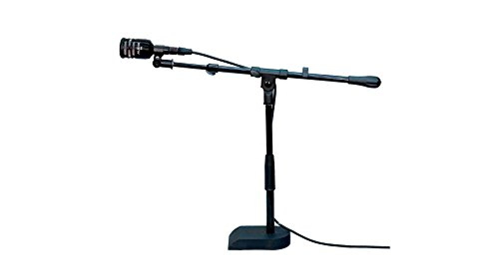 Audix D6-KD Dynamic Instrument Kick Drum D6 Microphone with Stand by Audix