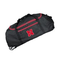 "Nebraska Cornhuskers 36"" Ultimate Collapsible Wheeled Duffel Bag - Black - No Size"