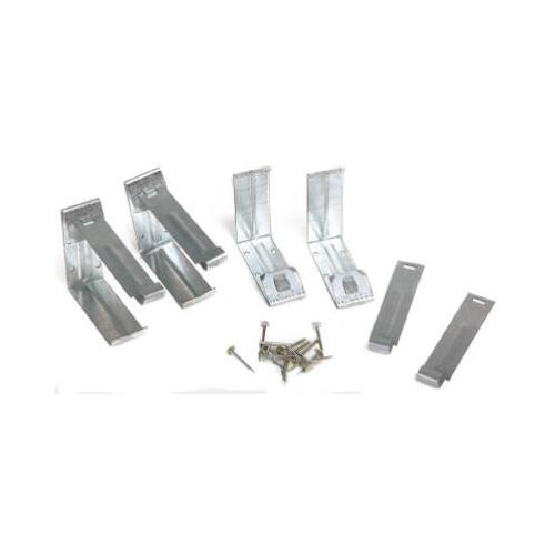 Amerimax 15020 Gutter Fascia Bracket With Nails, Mill Fin...