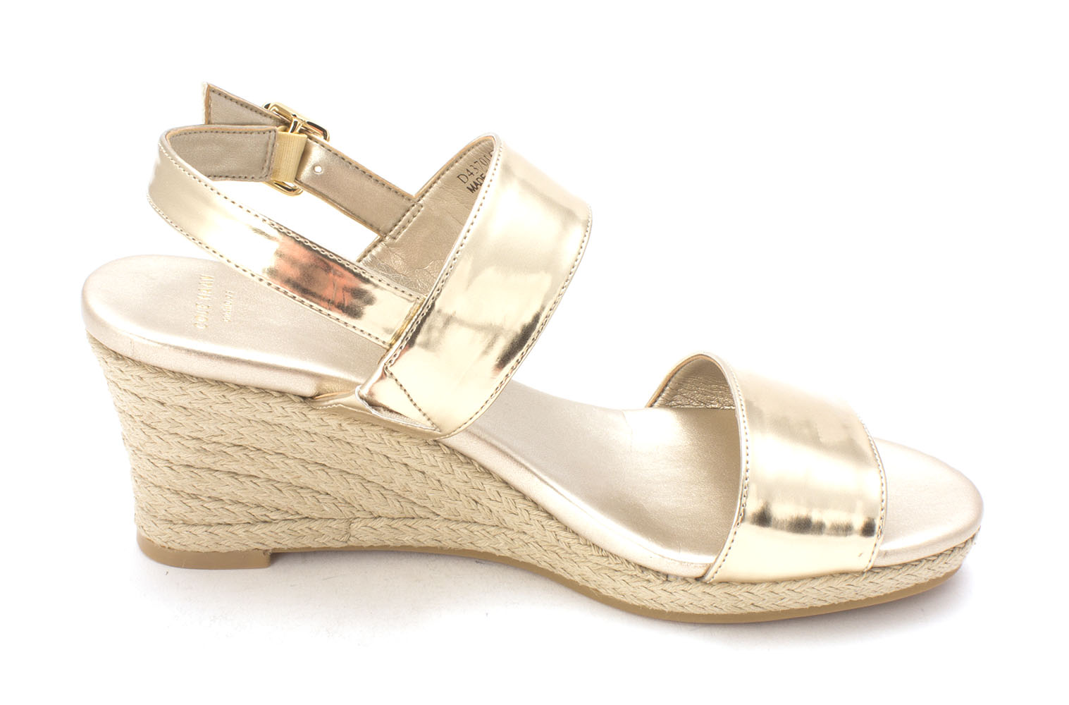 Cole Haan Womens 14A4177 Open Toe Casual Platform Sandals, Soft Gold, Size 6.0