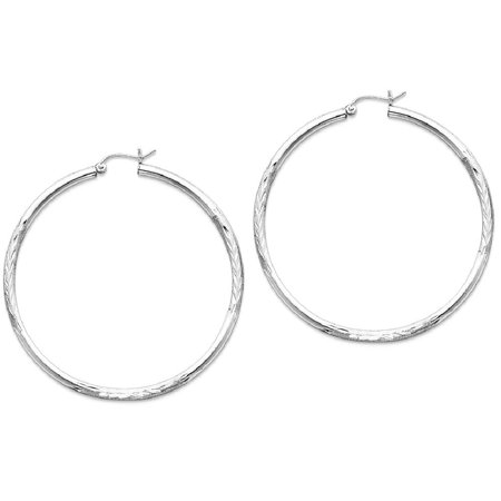 60937ec21875c ICE CARATS Sterling Silver Hoop Earrings - ICE CARATS 925 Sterling Silver  2.5mm Hoop Earrings Ear Hoops Set Round Classic Fine Jewelry Ideal Gifts  For ...