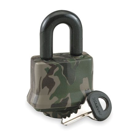 MASTER LOCK 317DSPT Laminated Padlock,Camouflage Cover,KD
