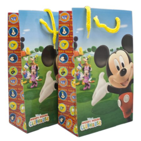 Mickey Gift Bags (Disney's Mickey Mouse Welcome to the Clubhouse Small Size Gift Bags)