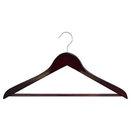 Proman Genesis Flat Suit Hanger with Bar - 50 Pieces