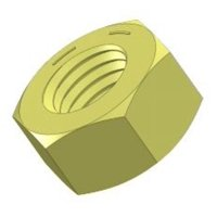 """Grade 8 Hex Nuts, 1/4""""-20 - (Pack of 100)"""