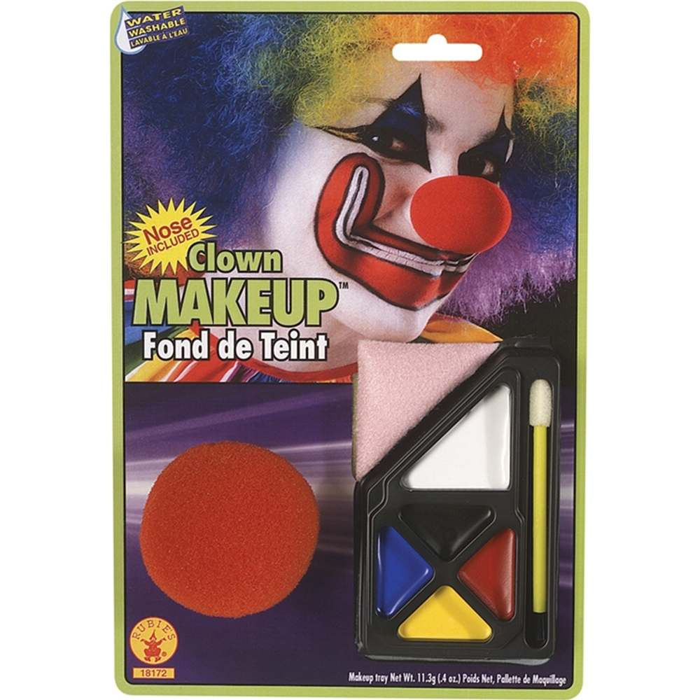 Clown Makeup Kit Rubies 18172, One Size