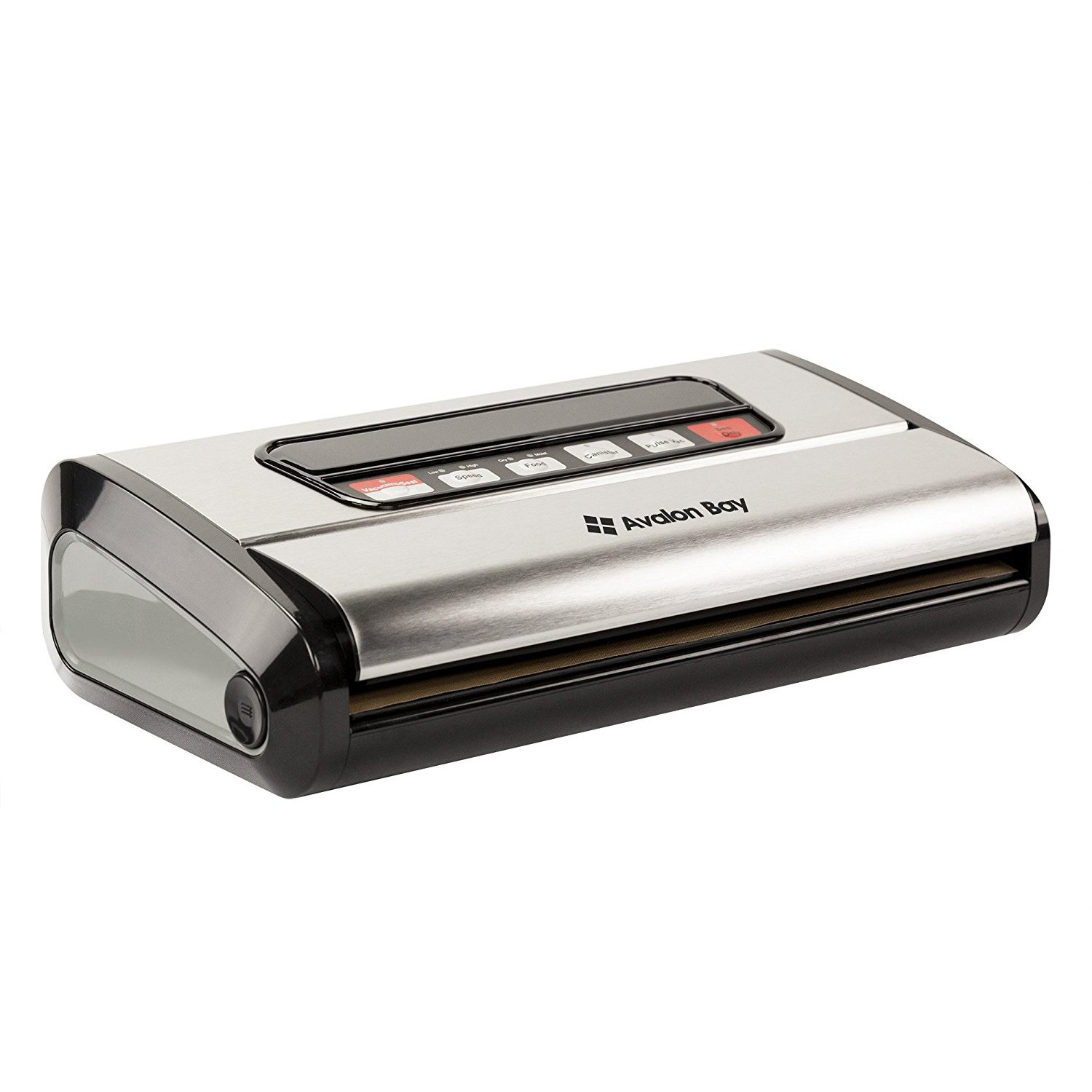 Avalon Bay FoodSealer300S 165W Kitchen Vacuum Sealer for Food Storage, Silver