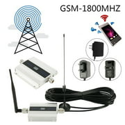 Willstar Alloy LCD 900/1800Mhz GSM 2G/3G/4G Signal Booster Repeater Amplifier Antenna for Cell Phone US/UK/EU Plug