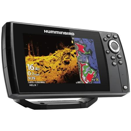 - Humminbird 410940-1NAV Helix 7 CHIRP Sonar G3 Dual Spectrum Combo Fishfinder/GPS/Chartplotter with MEGA Down Imaging & Navionics+ & 7