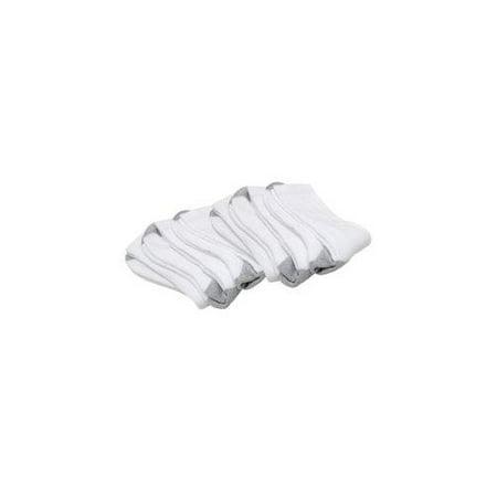 BLACKCANYON OUTFITTERS SPORT AG10416 6 MEN S CREW SOCKS 6-PACK WHITE 10-13