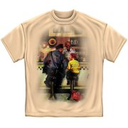 Cotton Zombie Police & Little Boy Dinner T-Shirt