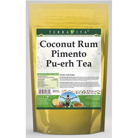 Coconut Rum Pimento Pu-erh Tea (25 tea bags, ZIN: 538104)