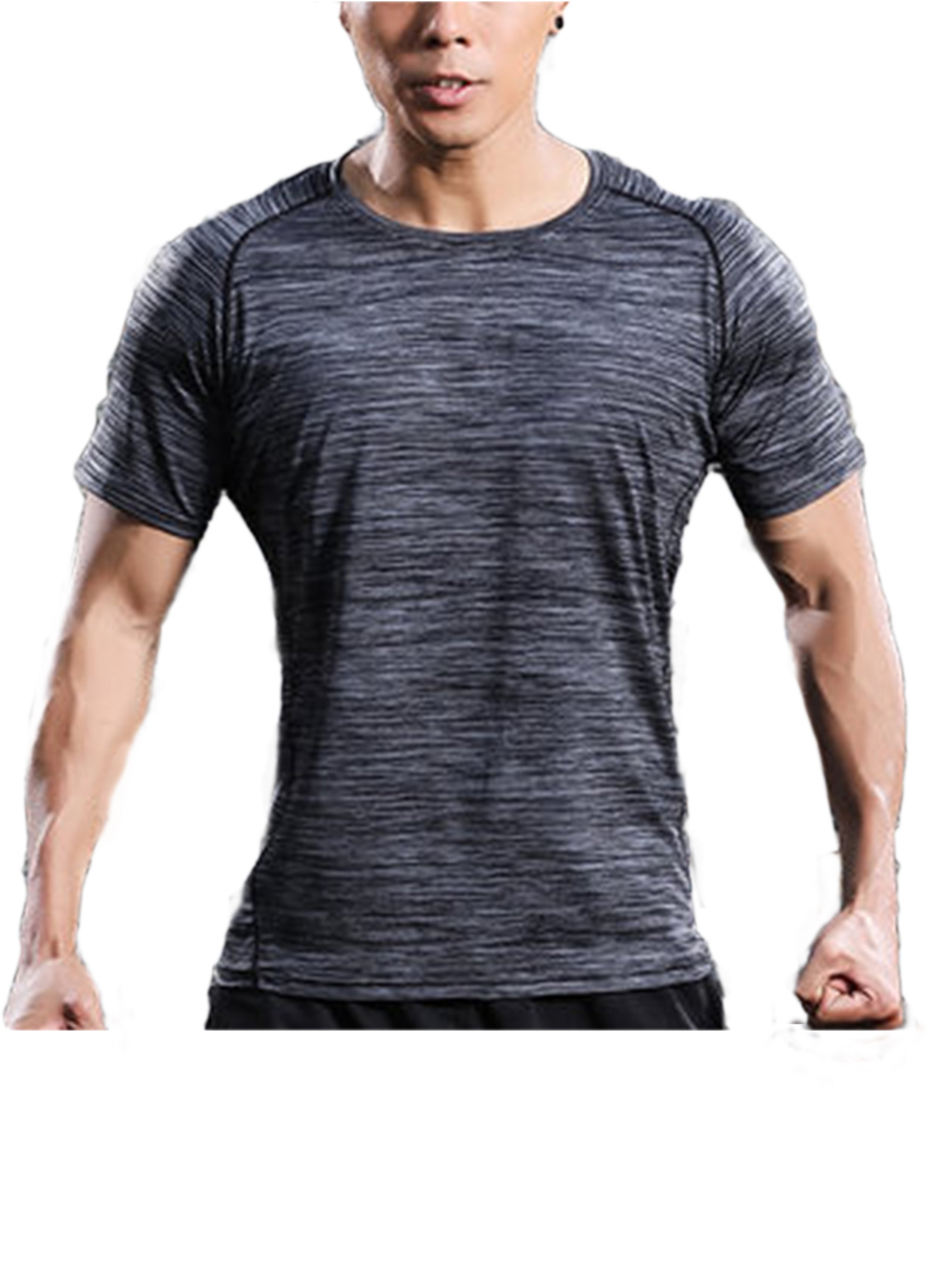 SAYFUT Men s Core Quick Dry Tee Short Sleeve Activewear T-Shirt Comfort  Soft Crew Neck Size M-4XL 7dc98476a0f