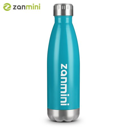 zanmini Stainless Steel Cola Vacuum Insulated Water Bottle 500ML