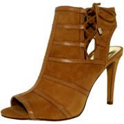 Lauren Ralph Lauren Women's Mimi-Sn-Drs Suede Leather Ankle-High Leather Pump