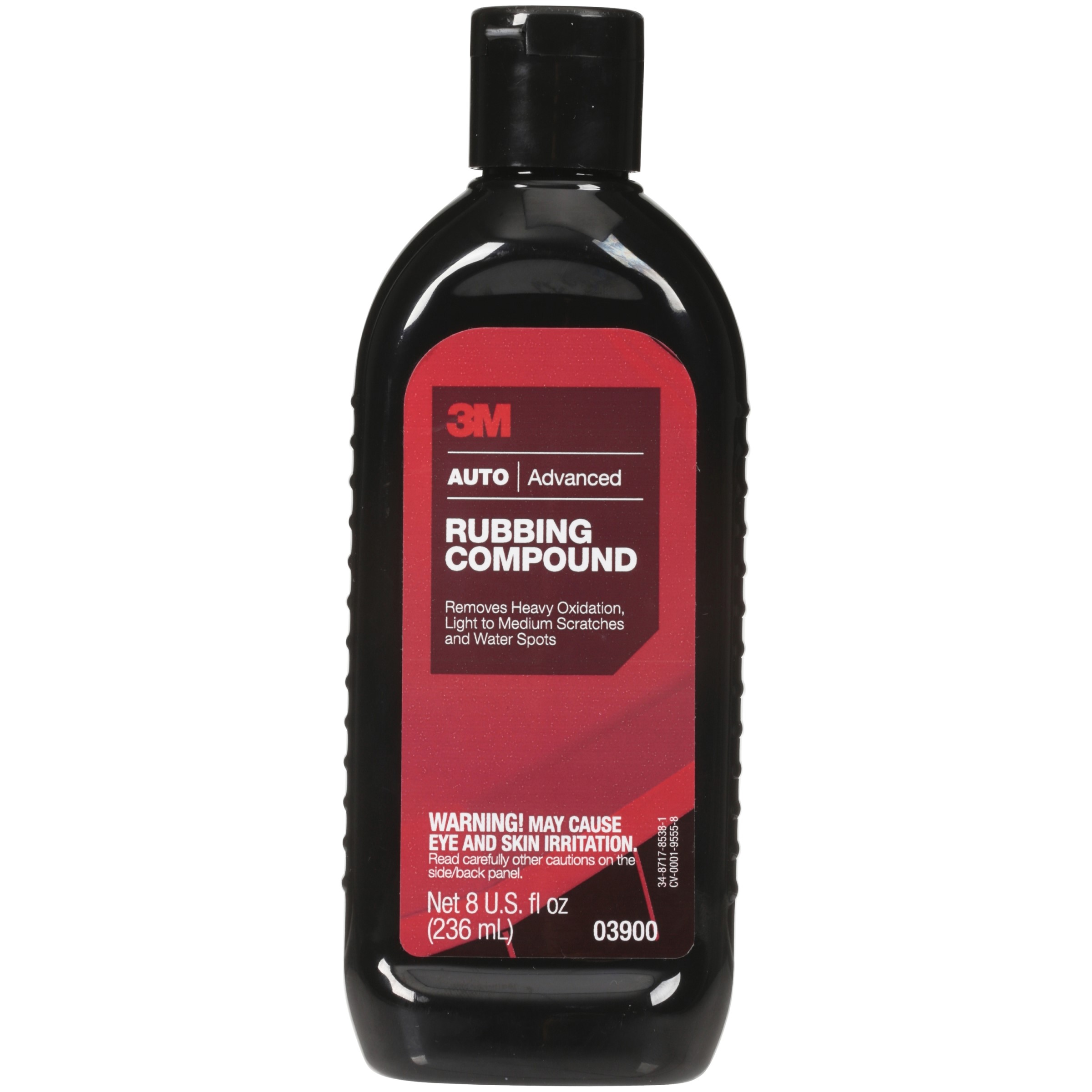 3M Auto Advanced Rubbing Compound 8 fl. oz. Bottle by 3M