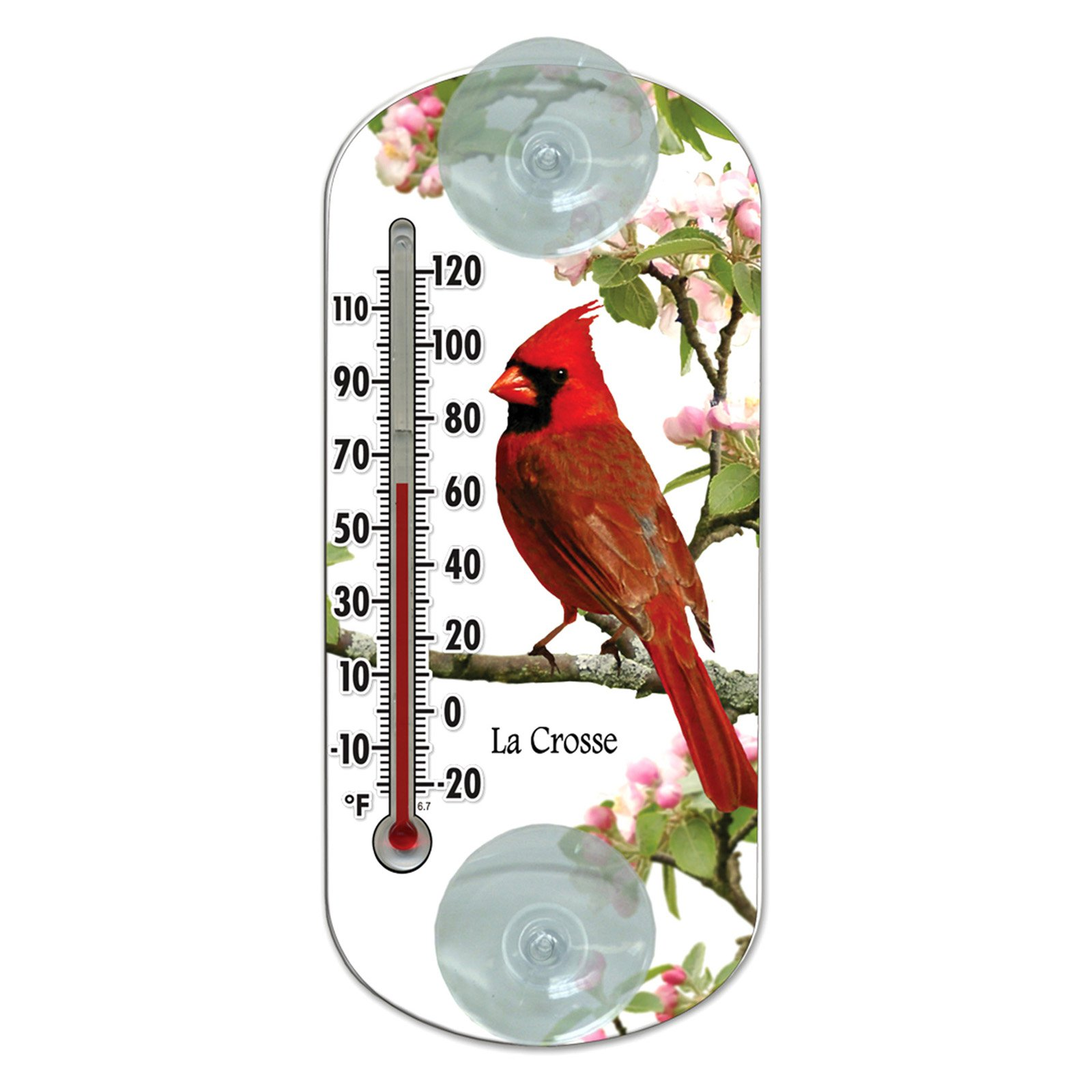 LaCrosse Technology 8 in. Cardinal Thermometer