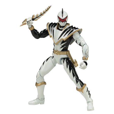 Power Rangers Legacy 6 Inch Action Figure Thundersaurus Megazord Series - White Ranger Dino Thunder - image 1 of 2