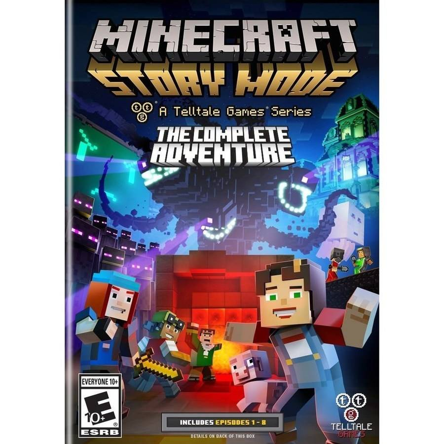 Minecraft: Story Mode The Complete Adventure (PC) by TELLTALE GAMES