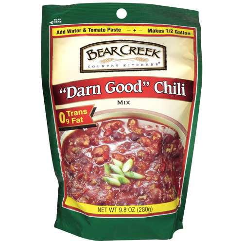 Bear Creek Country Kitchens Darn Good Chili Soup Mix, 9.80 oz