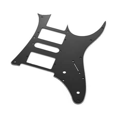 HSH Electric Guitar Pickguard PVC Pick Guard Scratch for Ibanez g250 Guitar Replacement Black 1