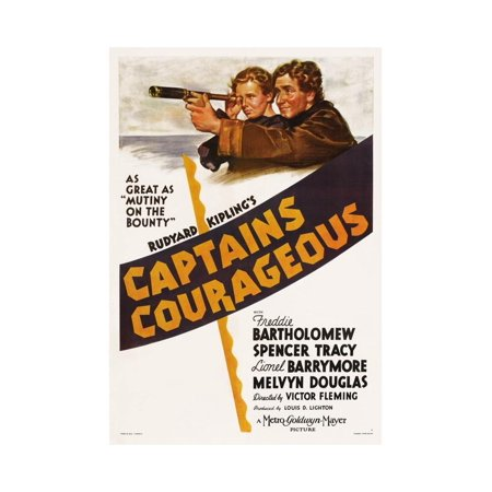 Captains Courageous, 1937 Print Wall Art ()