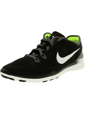 Women's Training Shoes - Nike Free TR 5 Flyknit - Vivid Purple/Fuchsia Glow/Light Violet/Black : I5d