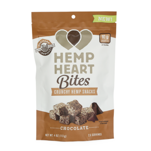 Manitoba Harvest Hemp Heart Bites, Chocolate, 4.0 Oz