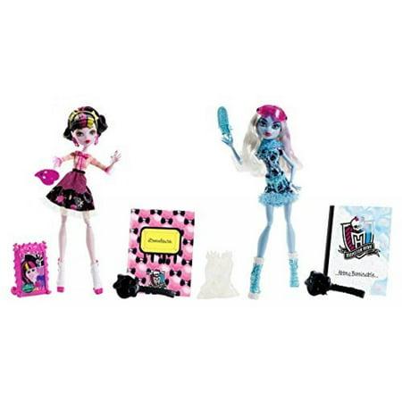 Maven Gifts: Monster High Art Class Draculaura Doll with Art Class Abbey Bominable