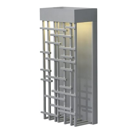 LBL Lighting LBL Pier 60 1 Light Silver Outdoor Light
