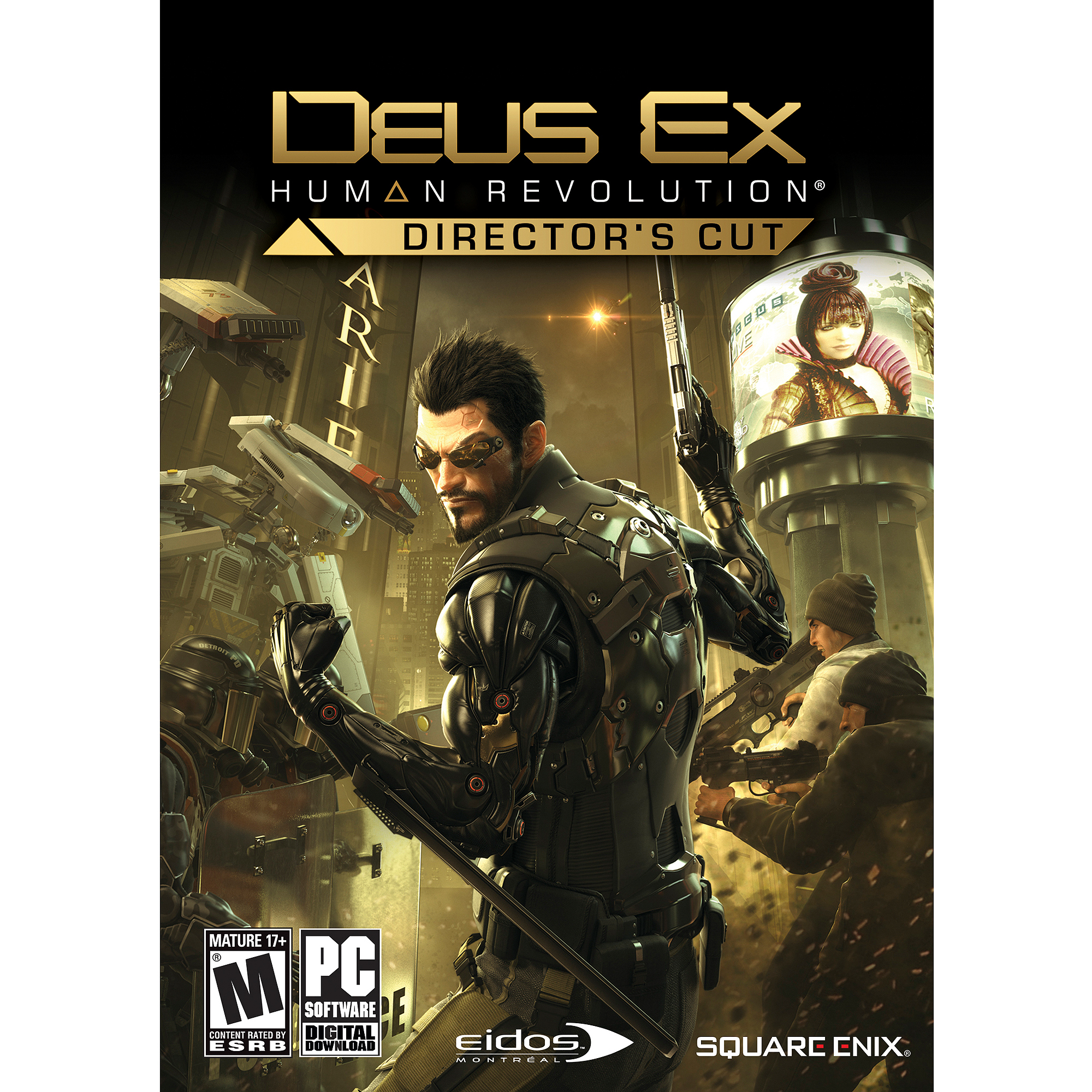 Deus Ex: Human Revolution Director's Cut ESD Game (PC) (Digital Code)