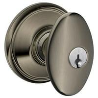 Schlage F51-SIE Siena Keyed Entry Panic Proof Door Knob Set